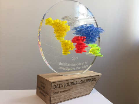 Ctrl+X é premiado no Data Journalism Awards